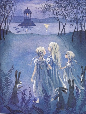 when the sky is like lace illustration barbara cooney