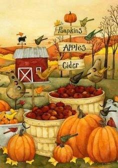 fall folk art