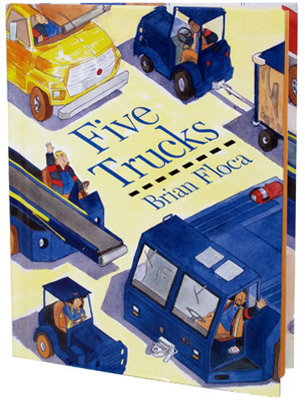 five trucks cover image brian floca