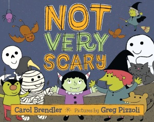 not very scary cover image