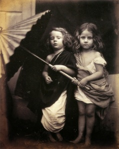 """Paul and Virginia"" by Julia Margaret Cameron"