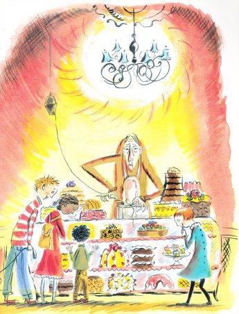 the bake shop ghost illustration marjorie priceman 001