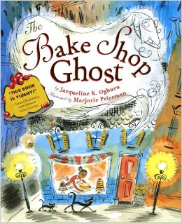 the bake shope ghost cover image