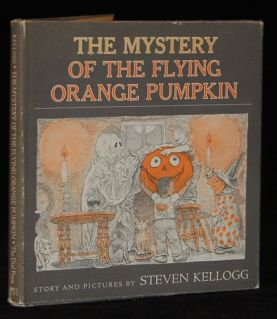 the mystery of the flying orange pumpkin cover image