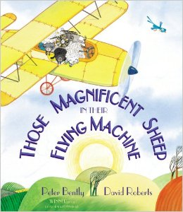 those magnificent sheep in their flying machine cover image