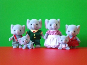 calico critters elephant family