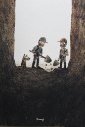 sam and dave dig a hole illustration jon klassen
