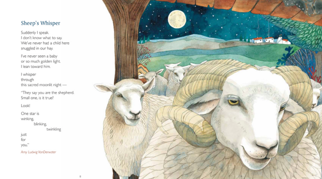 Sheep's Whisper amy ludwig vanderwater illustration helen cann