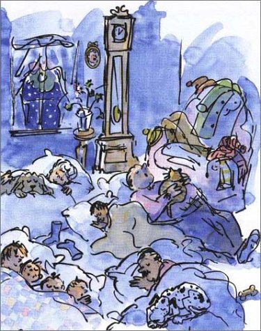 a houseful of christmas illustration betsy lewin