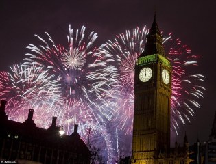 fireworks in london from dailymail dot co dot uk