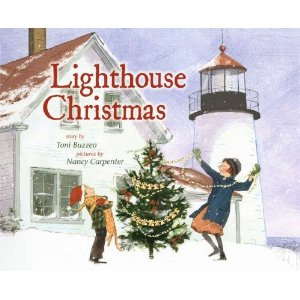 lighthouse christmas cover image