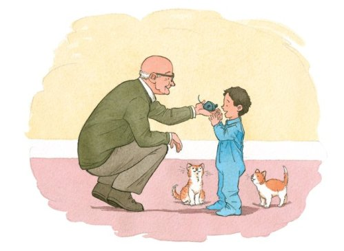 my grandfather's coat illustration barbara mcclintock