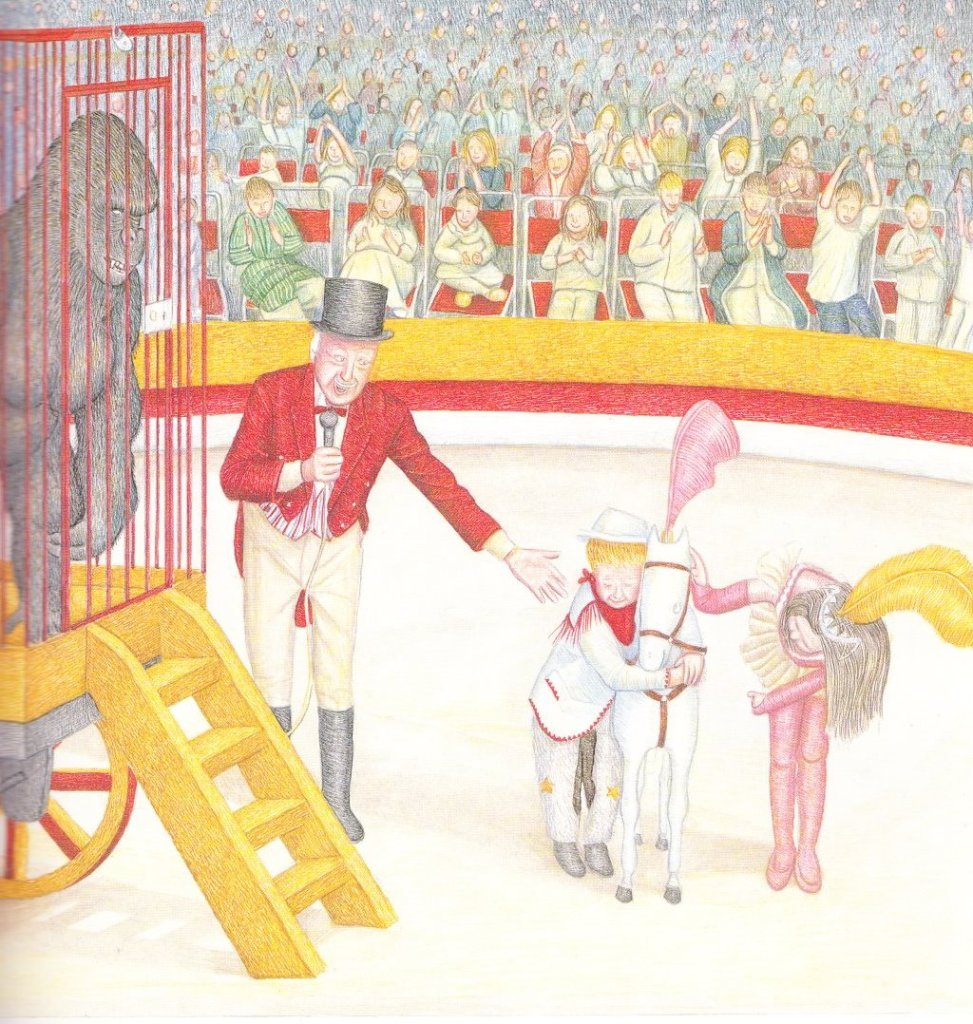 the midnight circus illustration peter collington 001
