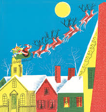 the night before christmas illustration roger duvoisin