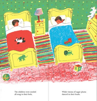 the night before christmas illustration2 roger duvoisin