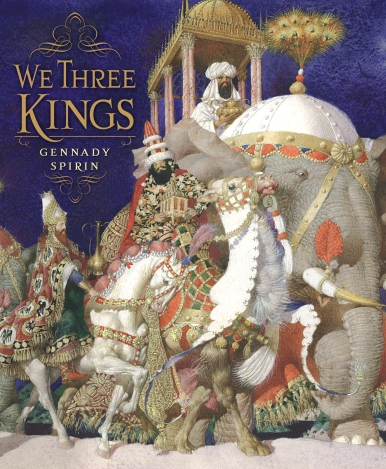 we three kings gennady spirin cover image