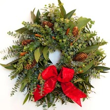 wreath from creeksidefarms dot com