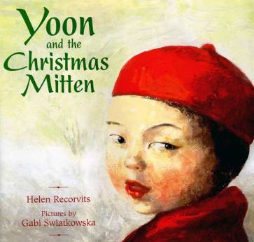 yoon and the christmas mitten cover image