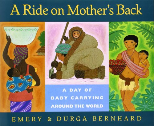 a ride on mother's back cover image