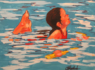 mermaid by christine holzschuh from paintingstory dot blogspot dot com