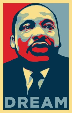 mlk dream poster
