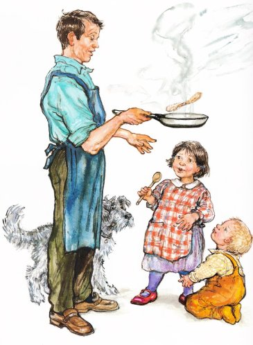 olly and me illustration shirley hughes 001