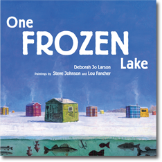 one frozen lake cover image