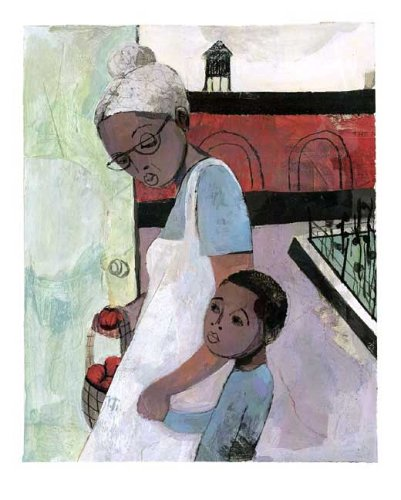 the baby on the way illustration sean qualls