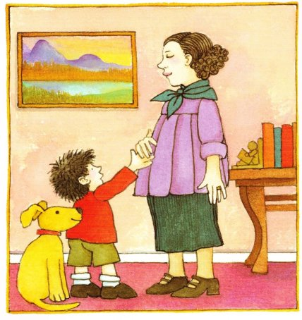 the baby sister illustration tomie depaola 001