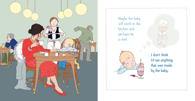 there's going to be a baby burningham and oxenbury interior
