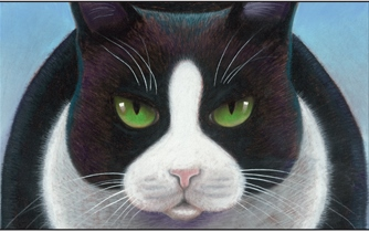 tip top cat illustration c roger mader