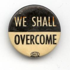 we shall overcome button