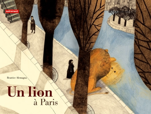 a lion in paris cover image