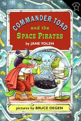 Commander Toad and the Space Pirates cover iamge