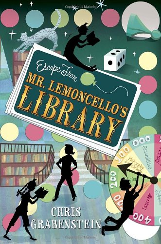 escape from mr lemoncello's library cover image