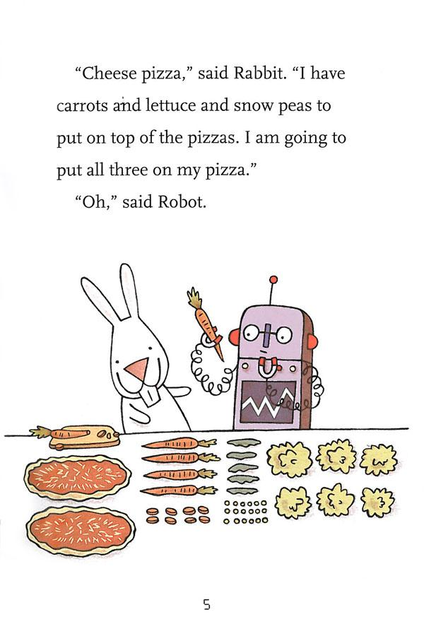 Rabbit and Robot by Cece Bell interior