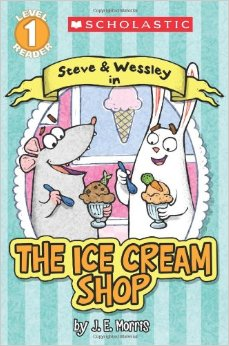 Steve and Wessley in The Ice Cream Shop cover image