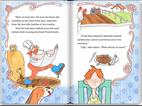 Tales for Very Picky Eaters by Josh Schneider interior
