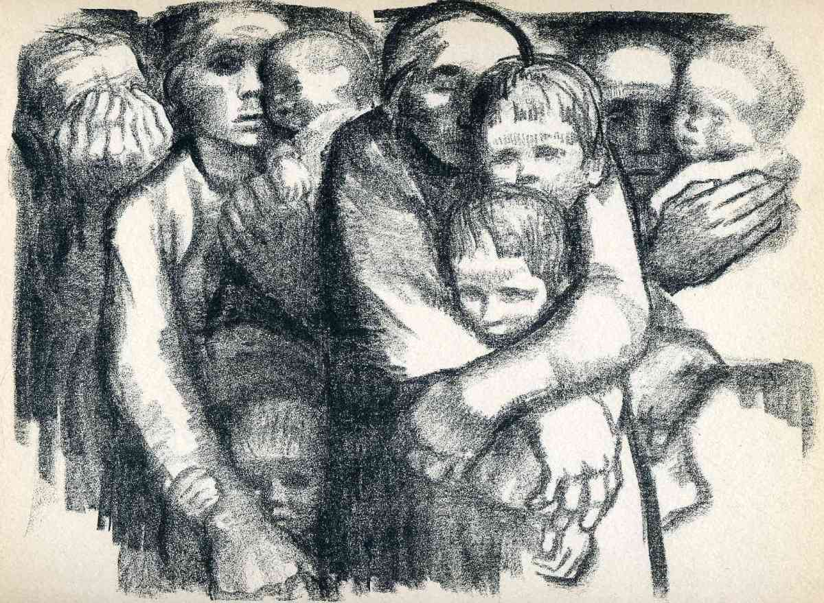 Kathe Kollwitz %22The Mothers%22