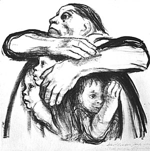 Kathe Kollwitz Seed for the Planting Shall Not be Ground Up