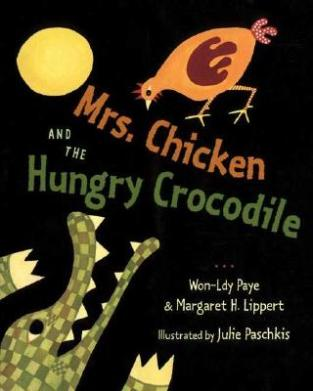 mrs. chicken and the hungry crocodile cover image
