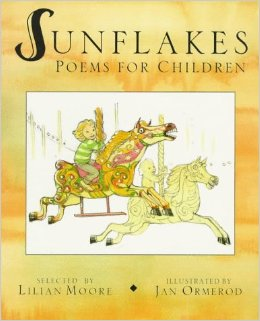 sunflakes poems for children cover image