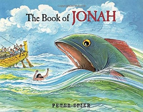 the book of jonah peter spier cover image