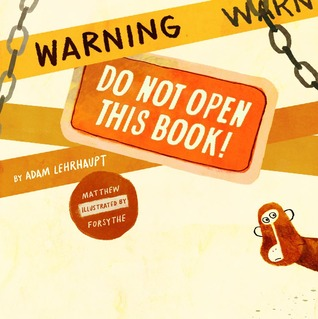 warning do not open this book cover image