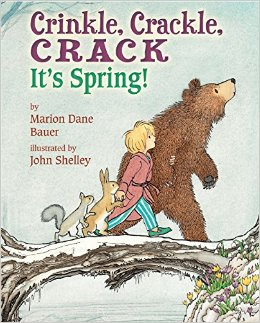 crinkle crackle crack it's spring cover image