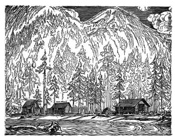 Fox Island by Rockwell Kent from his book: Wilderness: A Journal of Quiet Adventure in Alaska