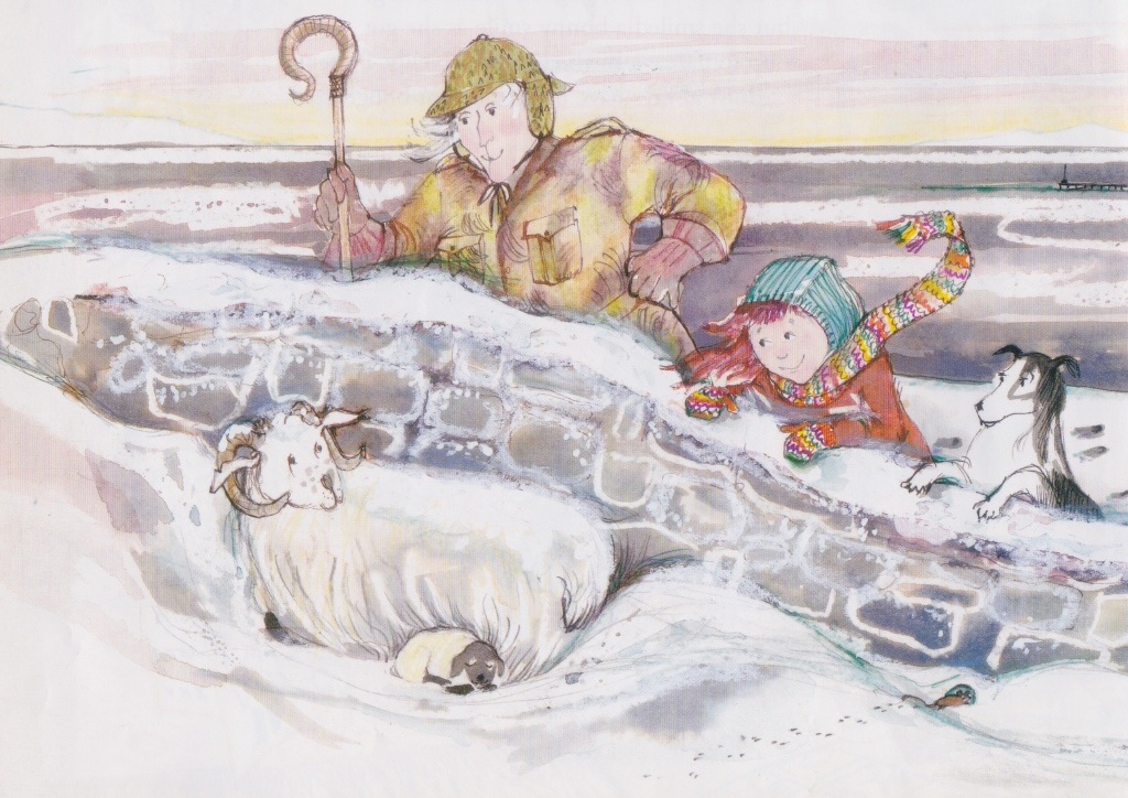 katie morag and the birthdays illustration mairi hedderwick