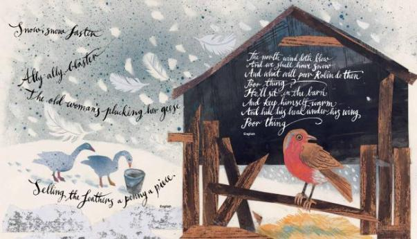 over the hills and far away illustration mark hearld