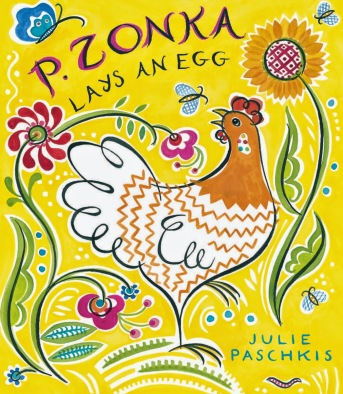 p.zonka lays an egg cover image