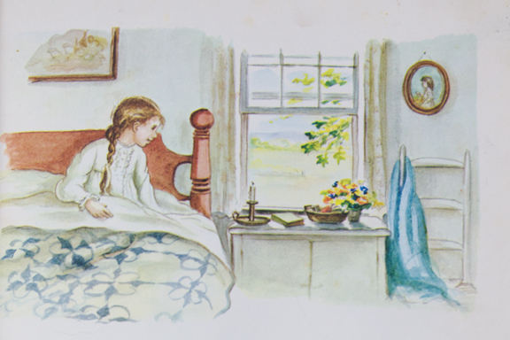 becky's birthday illustration2 tasha tudor